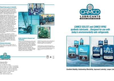 Brochures, sales sheets